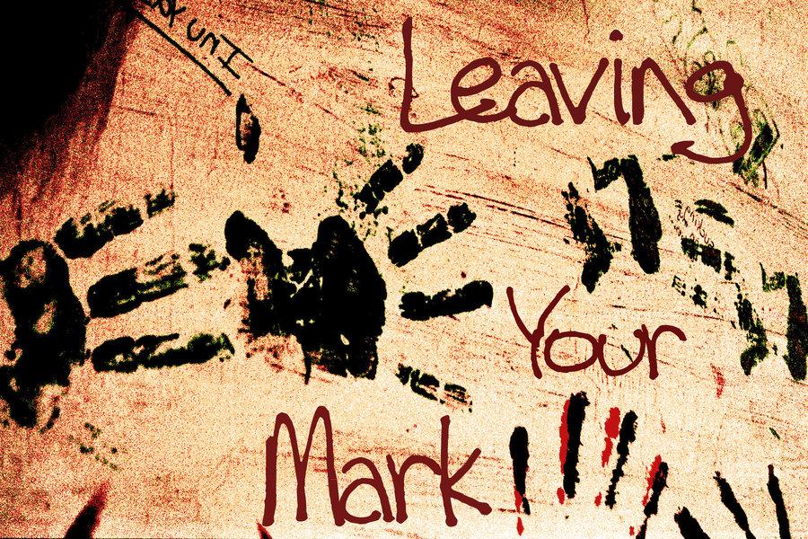 Deixe sua marca no mundo!